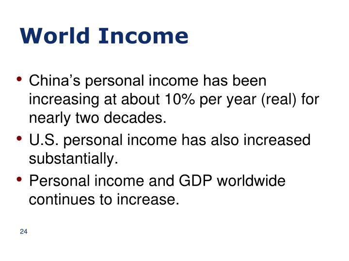World Income