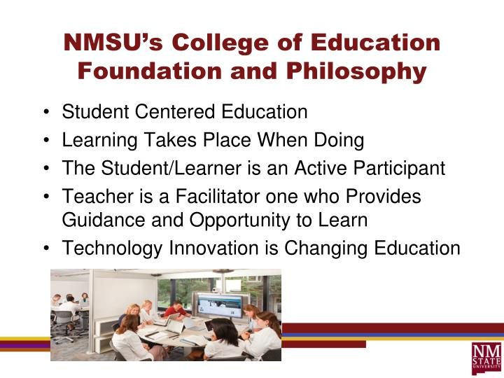NMSU's College of Education