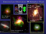 emission line observations multiphase winds