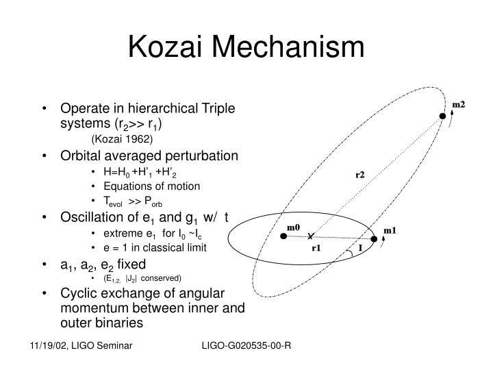 Kozai Mechanism
