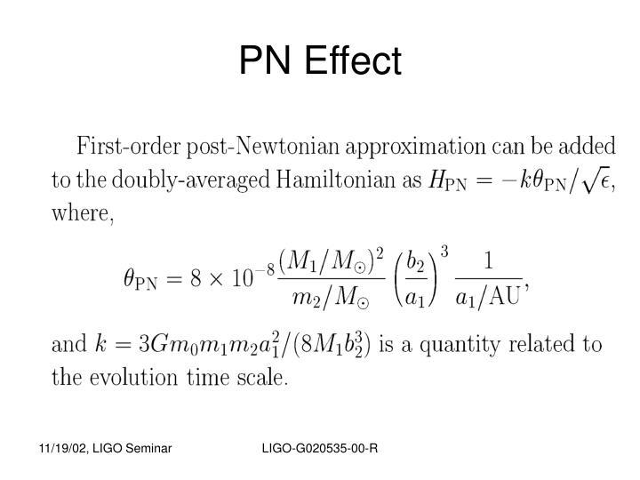 PN Effect