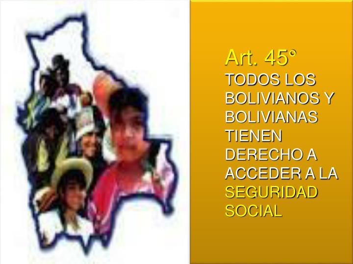 Art. 45°
