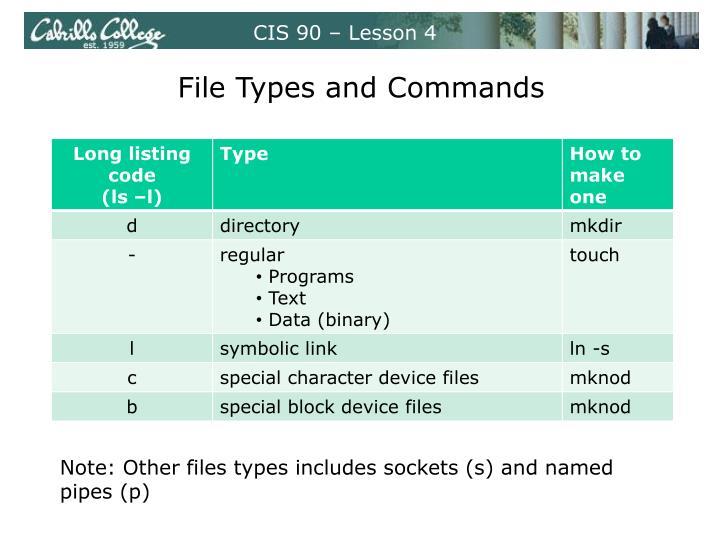 CIS 90 – Lesson 4