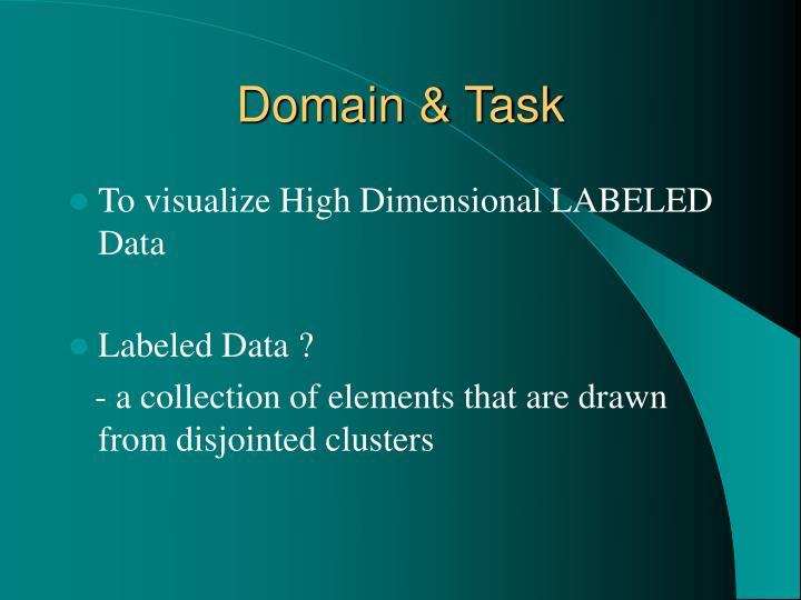 Domain & Task