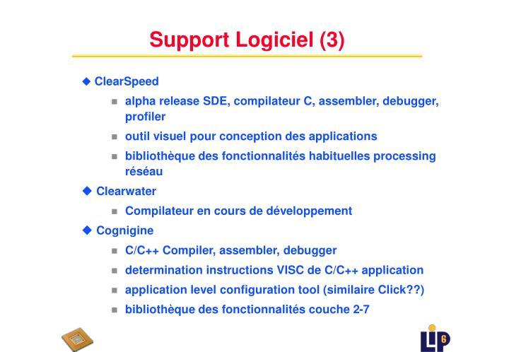 Support Logiciel (3)