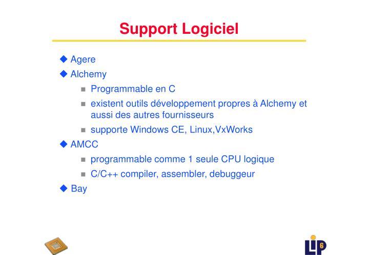 Support Logiciel