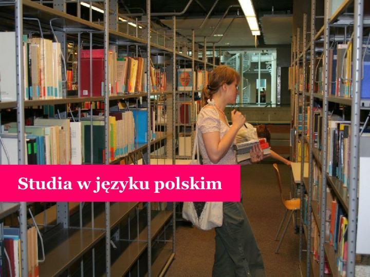 Studia w języku polskim
