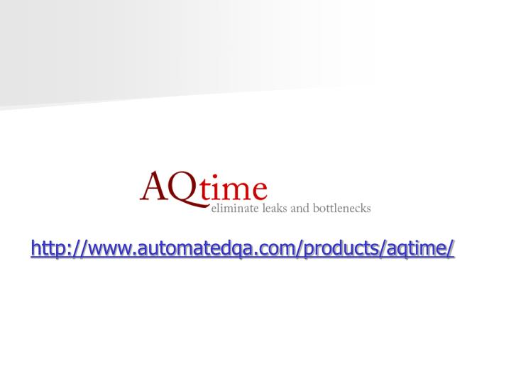http://www.automatedqa.com/products/aqtime/