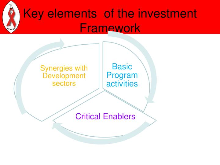 Key elements  of the investment Framework