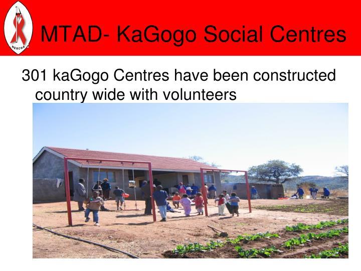 MTAD- KaGogo Social Centres