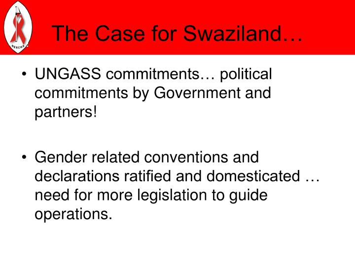 The Case for Swaziland…