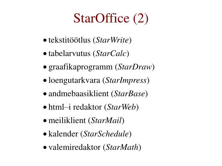 StarOffice (2)