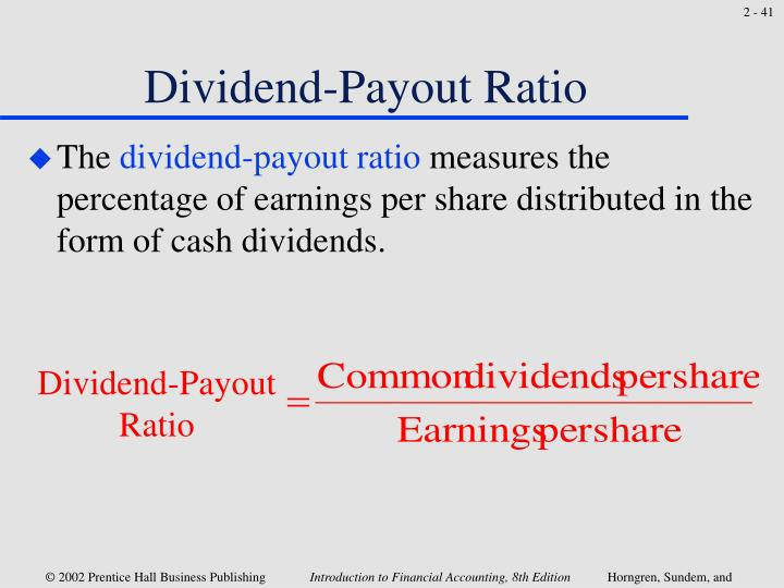 Dividend-Payout Ratio