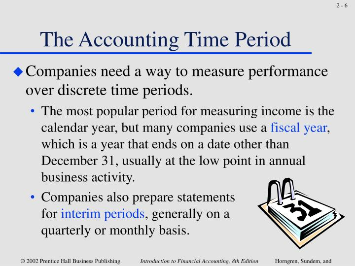 The Accounting Time Period