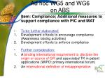 ad hoc wg5 and wg6 on abs4