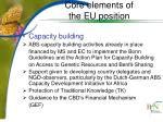 core elements of the eu position2