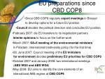 eu preparations since cbd cop8