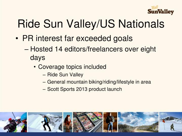 Ride Sun Valley/US Nationals