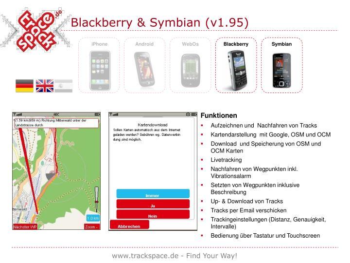 Blackberry & Symbian (v1.95)