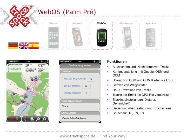 WebOS (Palm Pré)