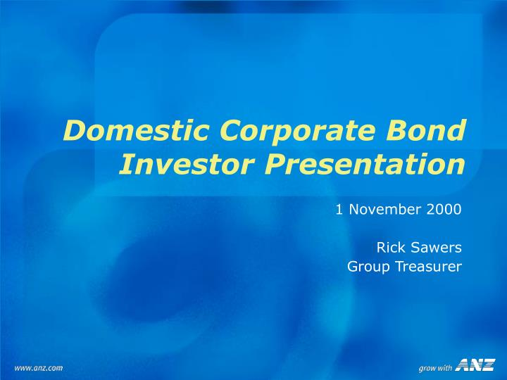 Domestic Corporate Bond