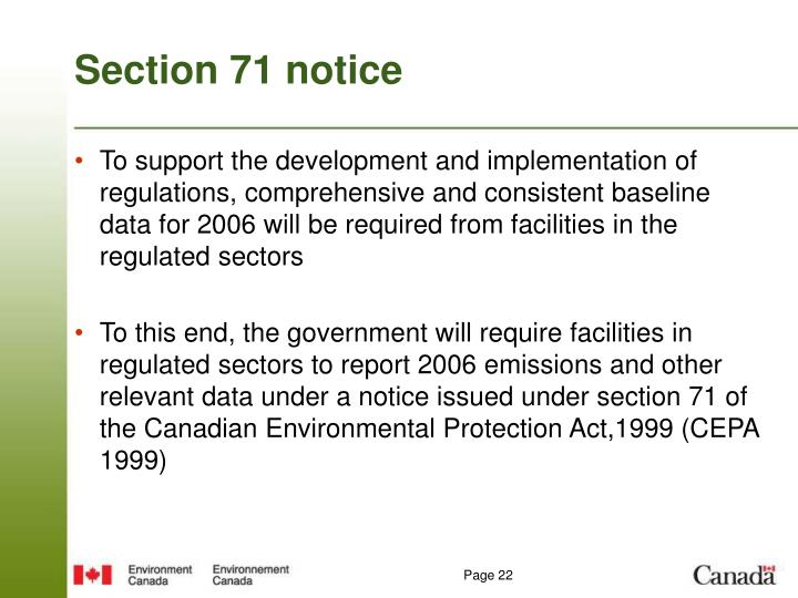 canadian environmental protection act cepa and the issues on pollution