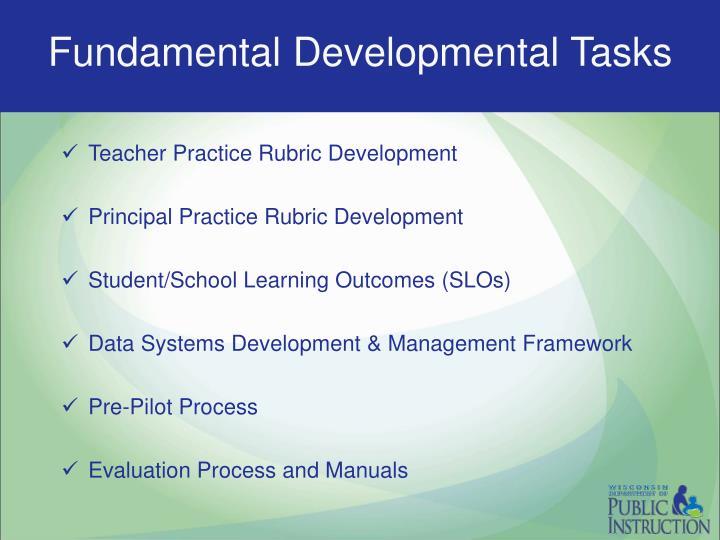Fundamental Developmental Tasks