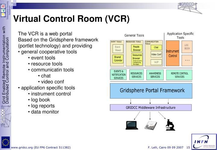 Virtual Control Room (VCR)
