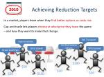 achieving reduction targets2