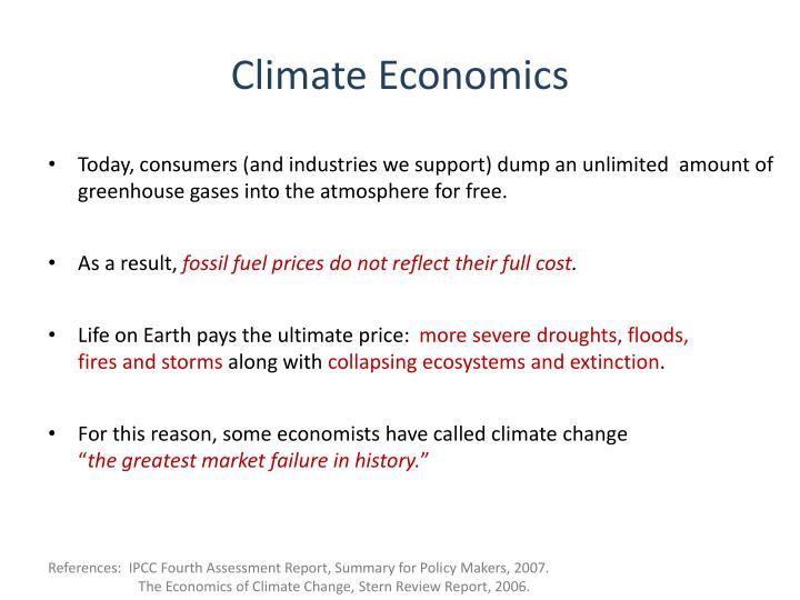 Climate Economics