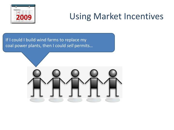 Using Market Incentives