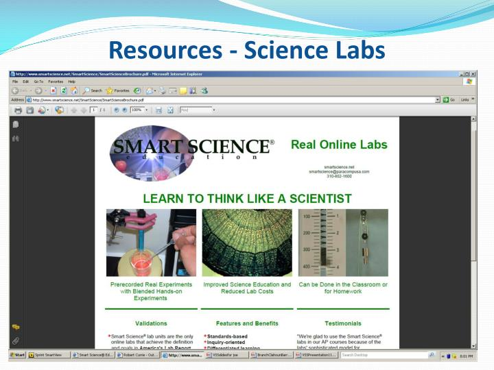 Resources - Science Labs