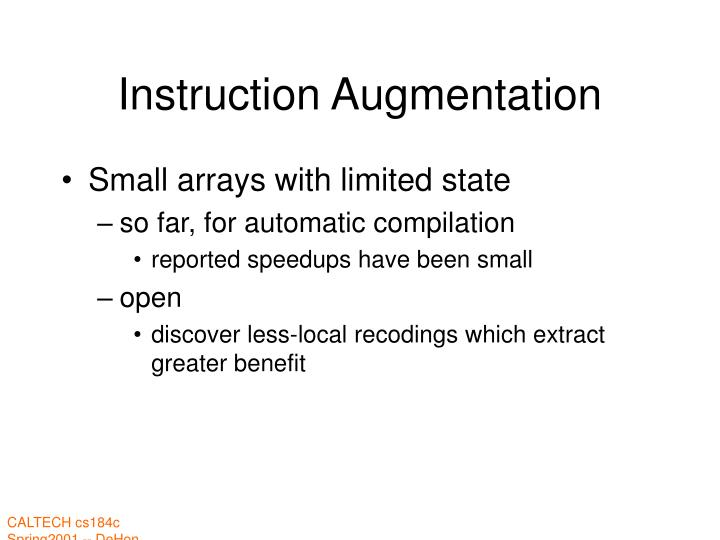 Instruction Augmentation