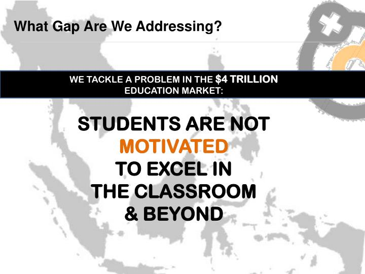 What Gap Are We Addressing?