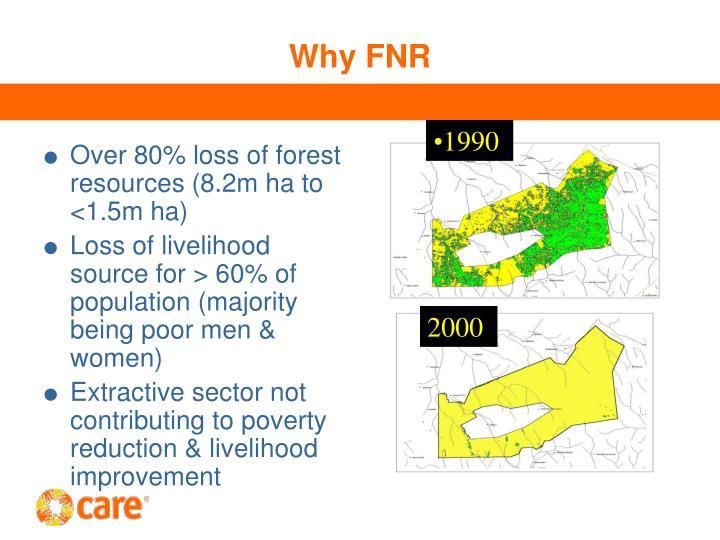 Why FNR