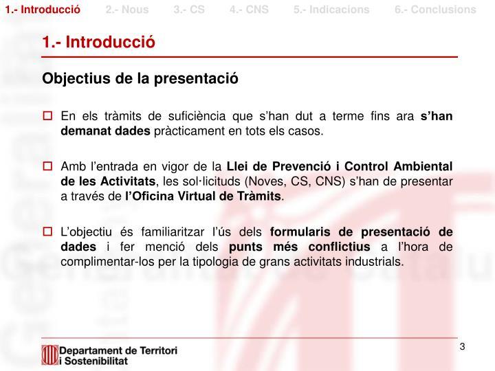 1.- Introducció