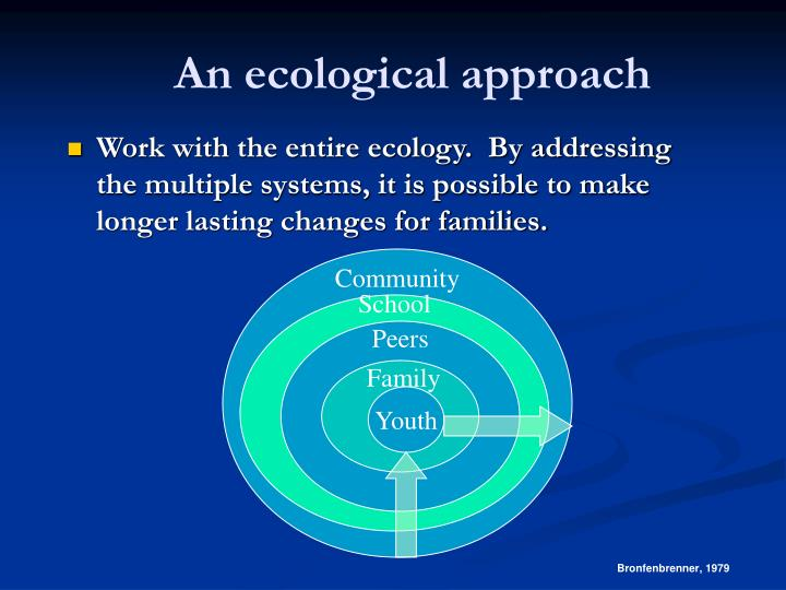 An ecological approach