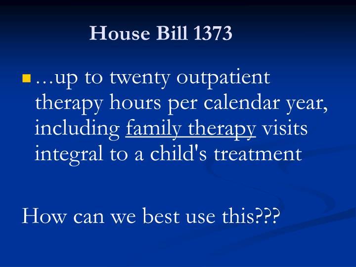 House Bill 1373