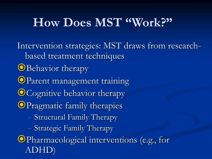 "How Does MST ""Work?"""