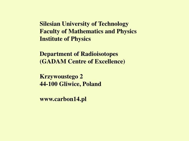 Silesian University of Technology
