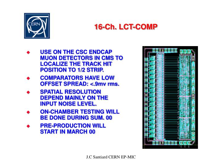 16-Ch. LCT-COMP