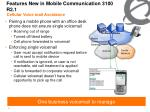 features new in mobile communication 3100 r2 12
