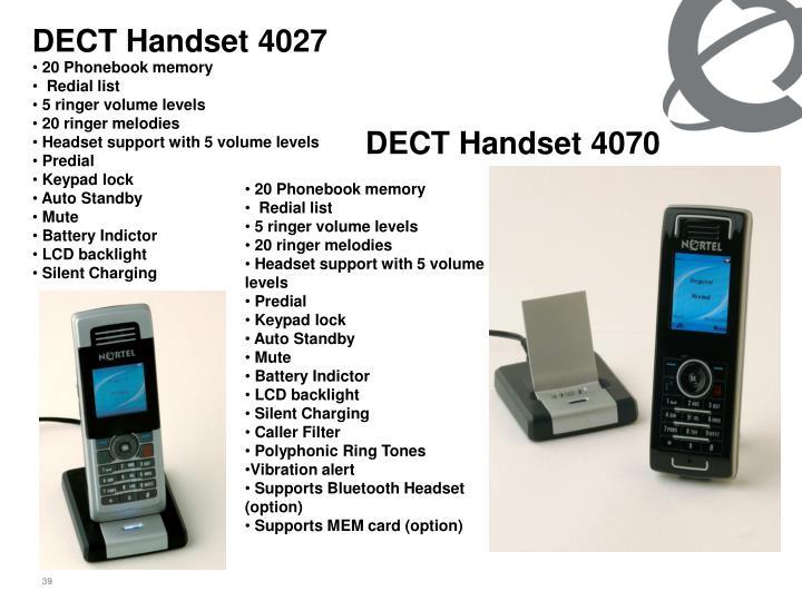 DECT Handset 4027