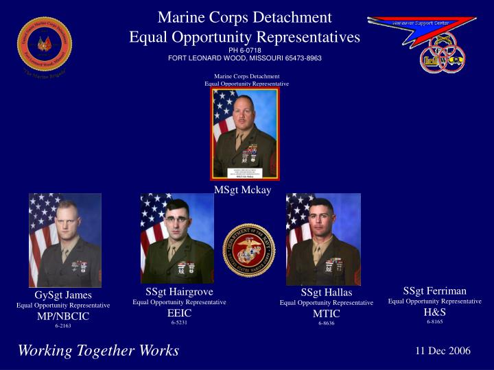 Marine Corps Detachment