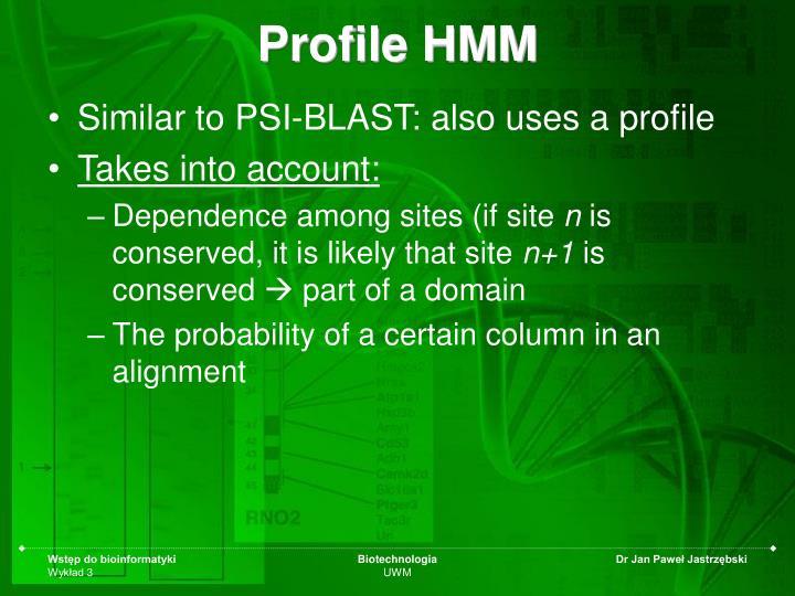 Profile HMM