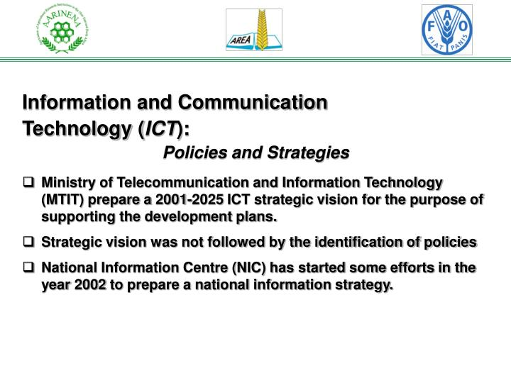Information and Communication