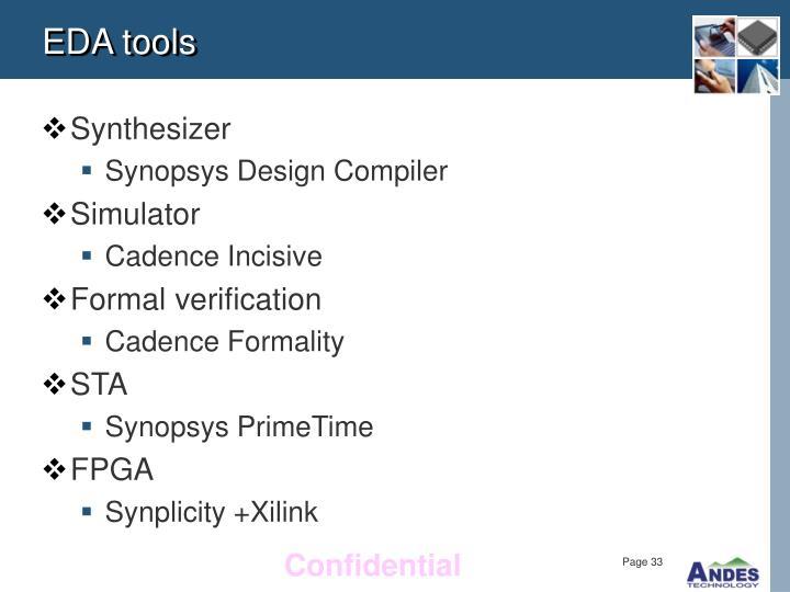EDA tools