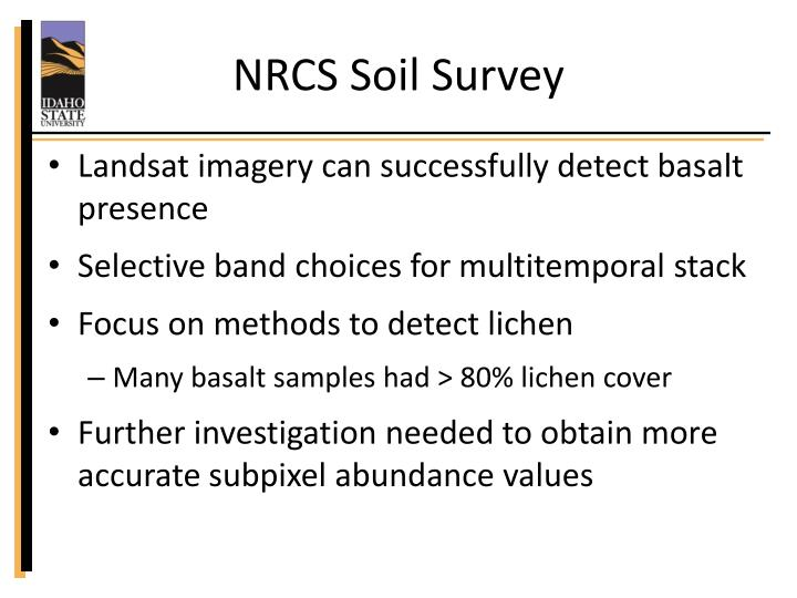NRCS Soil Survey