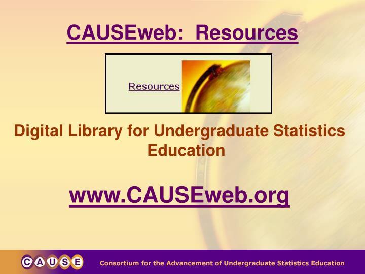 CAUSEweb:  Resources