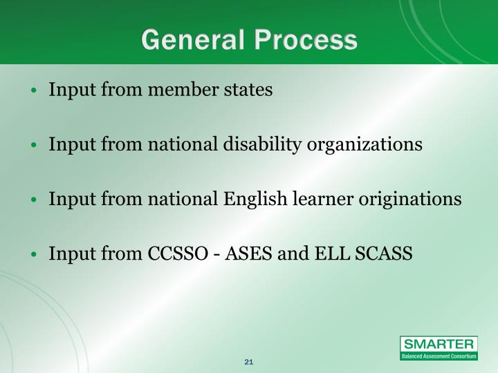General Process